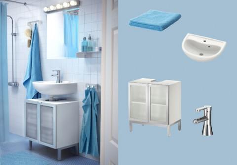 relooker sa salle de bains moins de 500 home. Black Bedroom Furniture Sets. Home Design Ideas