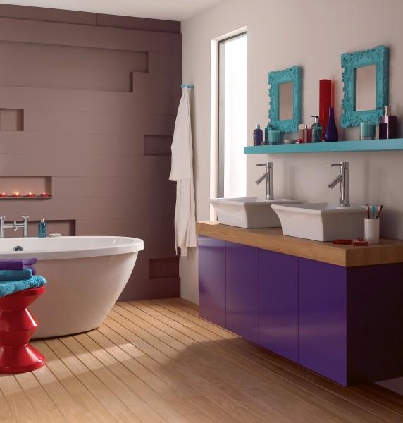 Prix De La Peinture De Salle De Bains Travauxcom - Peindre une salle de bain