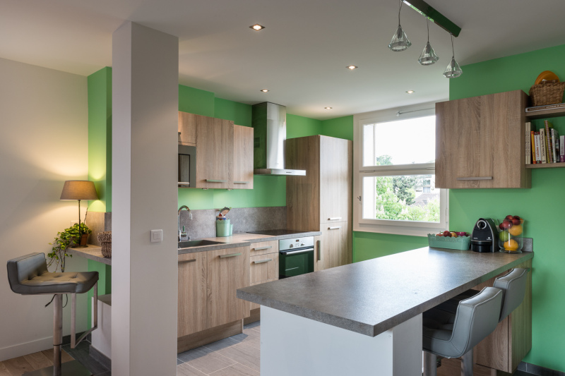 Rénovation d'appartement Camif Habitat