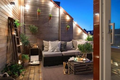 Balcon terrasse © Pinterest