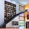 Rangements dans et sous l'escalier © Archea