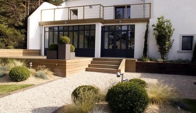 Terrasse et Façade ©Mathieu Lenorman pour MLB concept