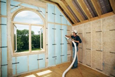Isolation des murs par l'intérieur © Supafil Knauf insulation