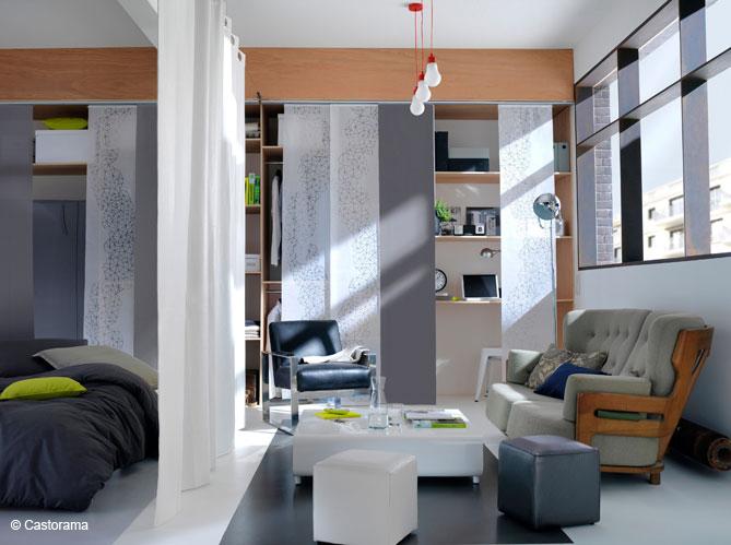 3 id es pour utiliser le panneau japonais. Black Bedroom Furniture Sets. Home Design Ideas
