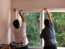 Pose de fenêtre ©Immobilier travaux