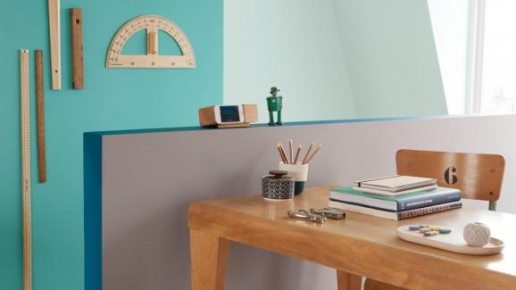 Peinture intérieur bleue  © Dulux Valentine
