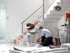 installation monte escalier Stannah