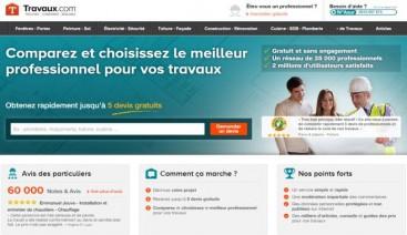 Page d'accueil Travaux.com