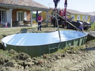 Installation piscine coque Piscine&Spa