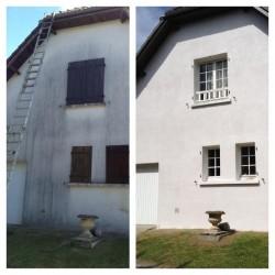 Traitement de façade Toiture rénovation sud