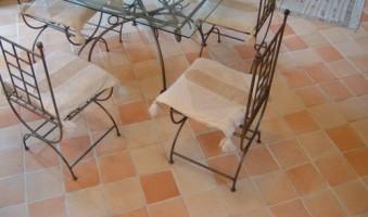 Carrelage en terre cuite Céramiques du beaujolais