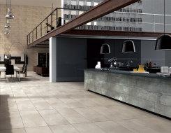 Carrelage Grand Formant Cement © Tau Ceramicas