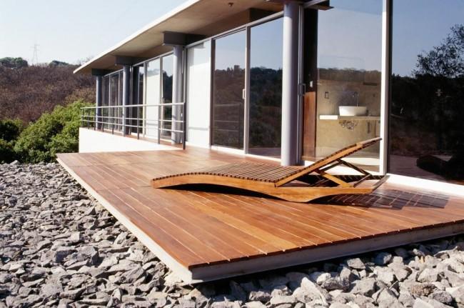 Terrasse en bois exotique © Le commerce du bois