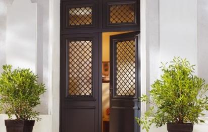 Porte d'entrée bois Bel'm