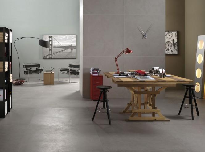 Carrelage sol intérieur Concrete Project de Imola Espace Aubade