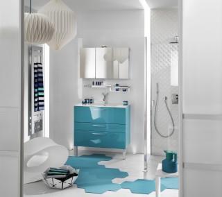Salle de Bains Unique Glossy © Delpha