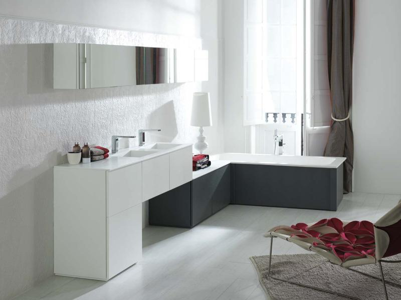 salle de bains gamade porcelanosa - Cout D Une Salle De Bain