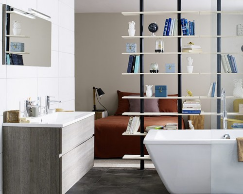 une petite salle de bains pleine de charme. amnager une petite salle ...