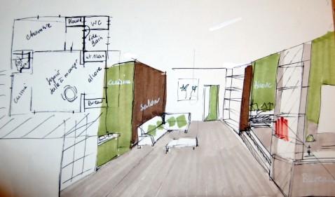 r am nager son int rieur en optimisant l 39 espace. Black Bedroom Furniture Sets. Home Design Ideas