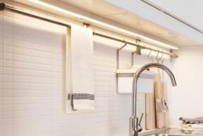 Eclairage de cuisine intégré OMLOPP Éclairage plan travail à LED © Ikea