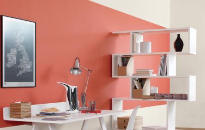 Peinture d'intérieur orangeSico