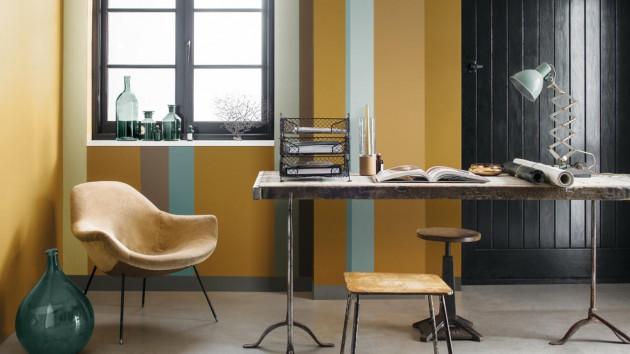 peinture int rieure les couleurs tendances en 2016. Black Bedroom Furniture Sets. Home Design Ideas