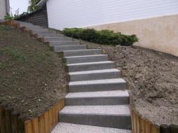 escalier exterieur 974