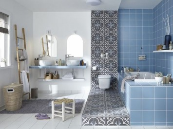 Peinture de salle de bains ©Leroy Merlin