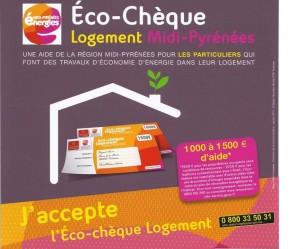 Eco-chèque Logement Région Midi-Pyrénnées