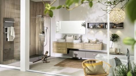 Carrelage de salle de bains Mobalpa