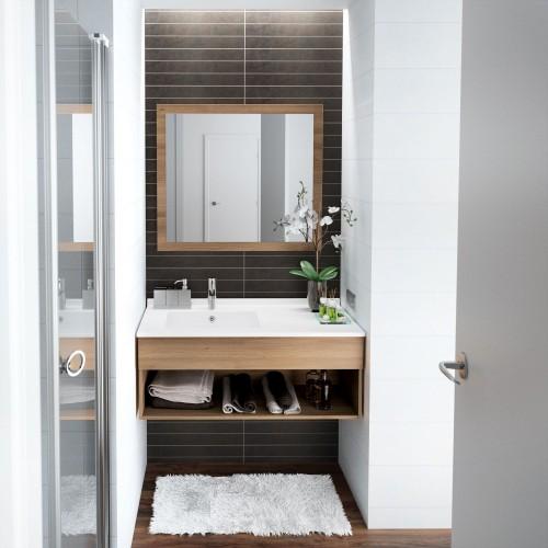 10 astuces pour aménager une petite salle de bains | Travaux.com