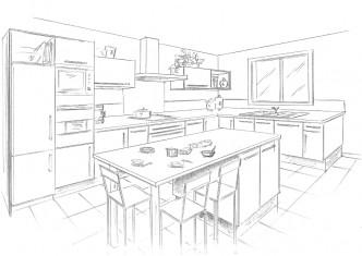 Plan de cuisine ©Fambaron