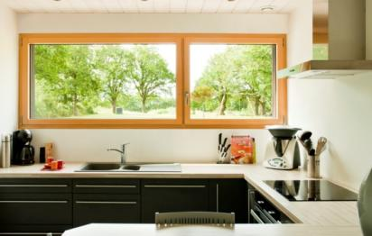 Fenêtres mixtes bois-aluminium ©Millet