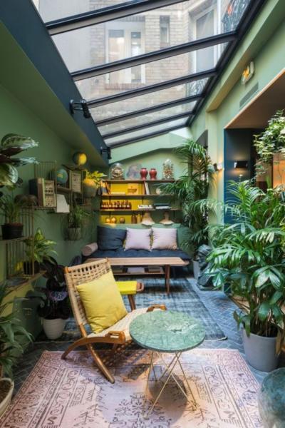 Verrière en mode terrasse Pinterest