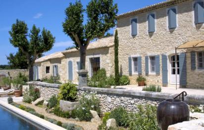 Mas provencal en pierre Andrew Nelson Architecture