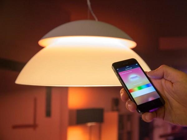 Luminaire connecté Philips