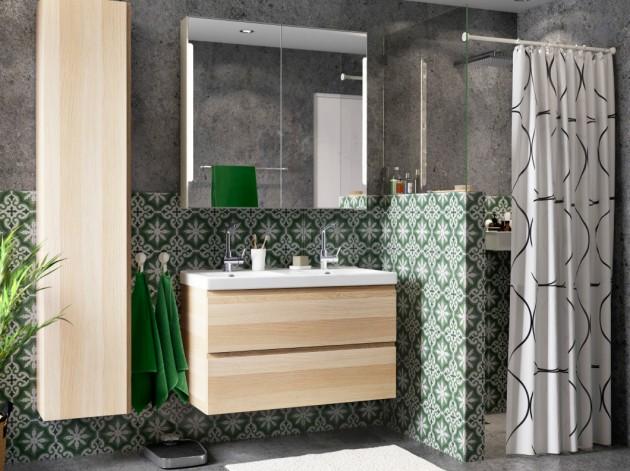 Sale de bains GODMORGON / ODENSVIKi Ikea