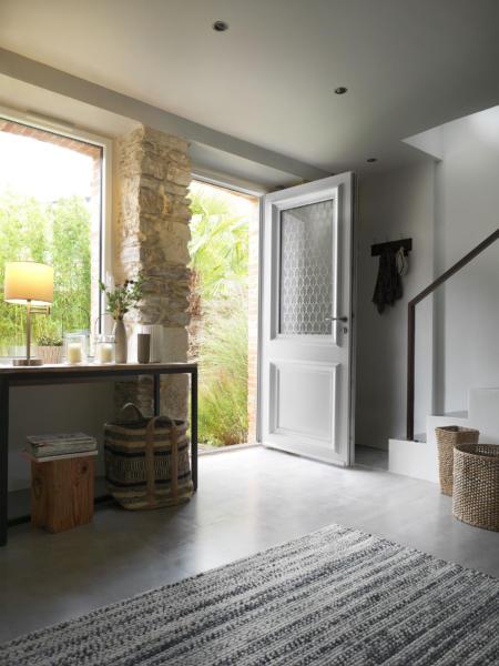 Porte d'entrée FLORA par SWAO - Dimensions : H 2150 x L 900 mm Prix public HT, hors pose, hors option : 2400 €HT
