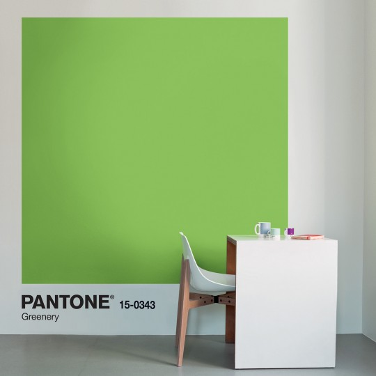 """Greenery """"Collection inspired by Pantone®"""" © Tollens"""