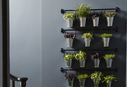 7 id es d co pour am nager un couloir - Mur vegetal interieur ikea ...