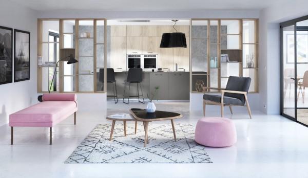 5 id es pour s parer la cuisine du salon for Separation cuisine salon petit espace