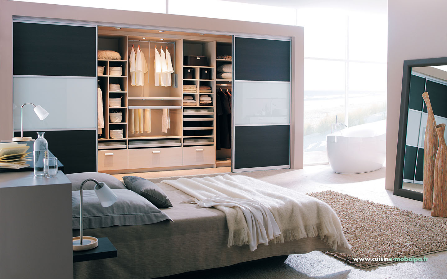 dressing sable mobalpa. Black Bedroom Furniture Sets. Home Design Ideas