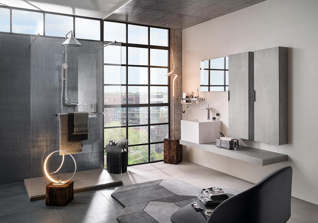 salle de bains delpha. Black Bedroom Furniture Sets. Home Design Ideas