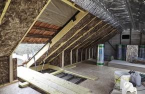 Isolation de combles aménagés - Système RT Plus © Knauf insulation