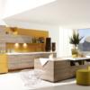 Cuisine meubles Alno plan Alno sund avec mur jaune Alno