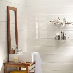 Lambris PVC blanc brillant Castorama