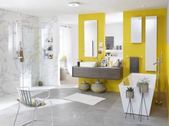 Salle de bains quel rev tement choisir - Devis salle de bain leroy merlin ...