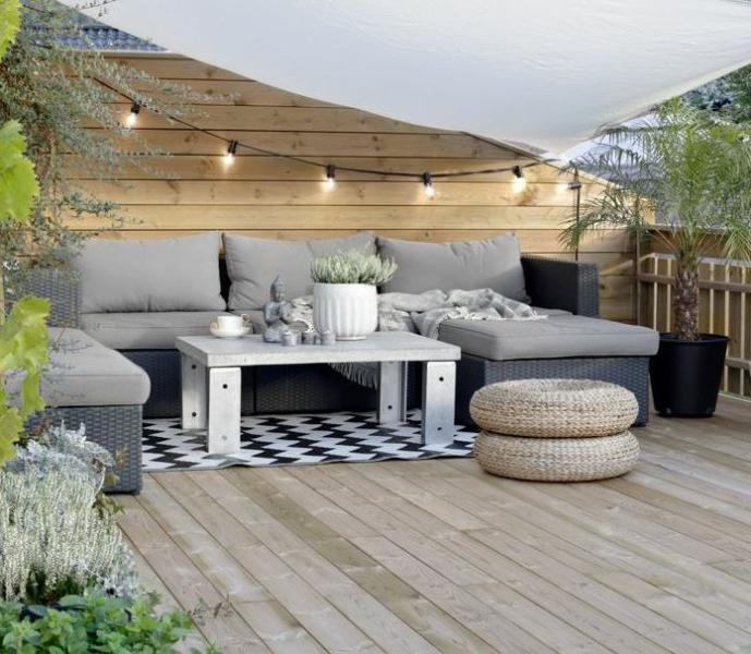 prix de la construction d 39 une terrasse en bois. Black Bedroom Furniture Sets. Home Design Ideas