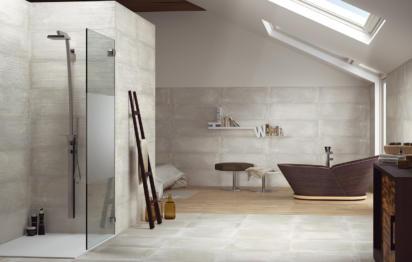 Salle de bains craquez pour les briques de verre for Carreler une salle de bain