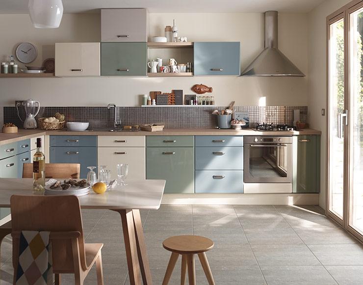meuble cuisine sixties castorama. Black Bedroom Furniture Sets. Home Design Ideas